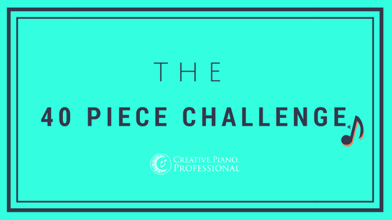 40 Piece Challenge – How it Works For Us!