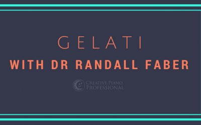 Gelati and a Chat With Dr Randall Faber