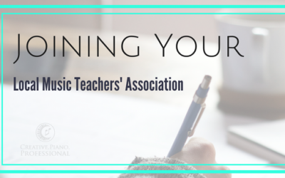 Joining Your Music Teachers' Association