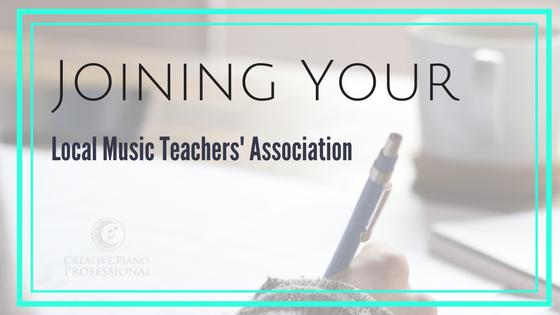 Joining Your Music Teachers' Association
