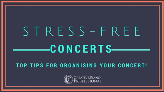 Stress Free Concert Organising!