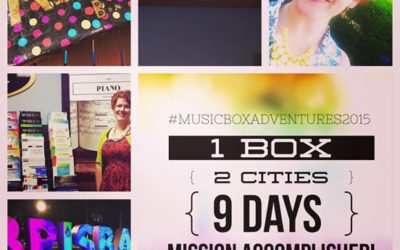 1 Music Box, 2 Cities and 9 Days: The Music Box Adventure