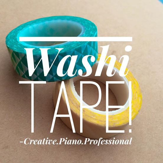 Washi tape is now ready for use!