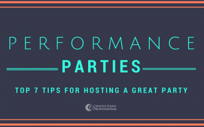 Performance Parties: 7 Top Tips For Hosting A Great Party!