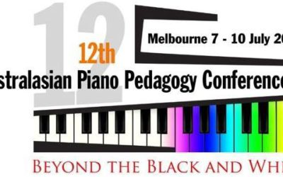 Australasian Piano Pedagogy Conference July 2015