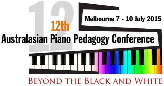 Australasian Piano Pedagogy Conference July 2015